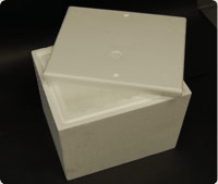 "Lid, walls and base 2"" thick"